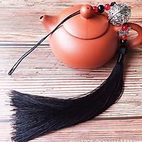 Móc khóa ma đạo tổ sư thanh tâm trần tình lệnh màu đen cổ trang tặng ảnh thiết kế Vcone