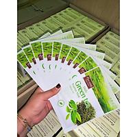 Combo 10 miếng Mặt nạ chiết xuất trà xanh Pure Mind 1 hộp 10 miếng ( Tặng 1 miếng cùng loại )