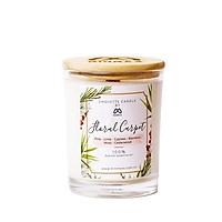 Nến thơm tinh dầu Chouette Candle Floral Carpet - Nến thơm phòng