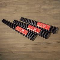 Bộ 10 đôi đũa ăn cao cấp đũa đẹp đũa sạch tiện nút hạt ( chất liệu gỗ trắc )