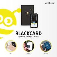 Thẻ định vị đa chức năng Pebblebee Black Card - Nhập khẩu chính hãng - Tìm kiếm, định vị đồ đạc
