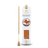 Nhang Thơm Tinh dầu QUẾ Mangala TẶNG KÈM Phụ Kiện - 50 cây-Giải pháp KHỬ MÙI , THƠM PHÒNG THIÊN NHIÊN
