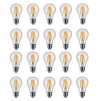 Bộ 20 bóng đèn Led Edison A60 6W đui E27 hàng chính hãng.
