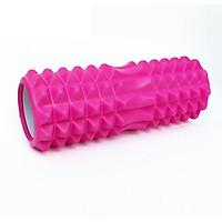 Con Lăn Foam Roller Massage gai 33cm- Ống Lăn Dãn Cơ Tập Gym, Yoga, Thể Hình