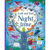 Sách Usborne Look and Find: Night time