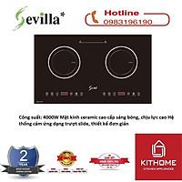 Bếp Điện Từ Đôi Sevilla SV-189T - Hàng Chính Hãng
