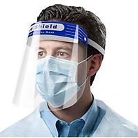Kính chống giọt bắn, Kính chống dịch Face shield đệm mút xốp bảo vệ 3 chiều an toàn tiện lợi – K024