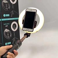 Đèn Selfiie, Livestream Kết Hợp Gậy Tự Sướng Đa Năng Essesa L07, Tích Hợp Remote Bluetooth Hỗ Trợ Chụp Ảnh Từ Xa Tiện Lợi - Hàng Chính Hãng