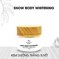 Kem Dưỡng Trắng Da Toàn Thân Snow Body Whitening Hương Thị 120g