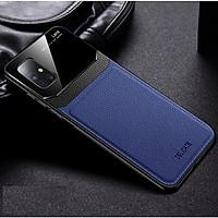 Ốp lưng da kính cao cấp hiệu Delicate dành cho SamSung Galaxy A51 - Hàng nhập khẩu