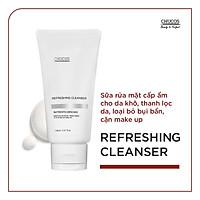 Sữa rửa mặt làm sạch da cấp ẩm từ sâu bên trong Refreshing Cleaner cho da Khô thanh lọc da, giảm thiểu bụi bẩn, cặn makeup 150ml