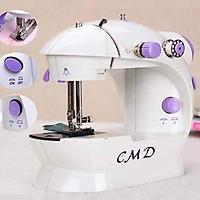 Máy khâu mini cao cấp CMD có đèn may được tất cả các loại vải, dễ mang theo, bảo quản