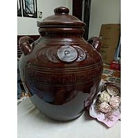 Chum đựng rượu gạo gốm sứ Bát Tràng loại 30L