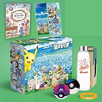 Hộp quà pokemon lớn có nhiều món đồ độc đáo