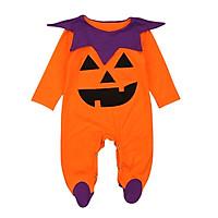 Baby Autumn Winter Halloween Outfits Cotton Cute Pumpkins Design Infant Boy Girl Romper Bodysuits