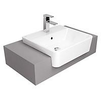 Chậu rửa lavabo đặt bán âm bàn- đặt nửa bàn - đặt bàn hẹp  American Standard  VF-0519 hoặc 0519-WT (chậu  chưa bao gồm vòi và bộ xả)
