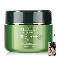 Kem dưỡng tái tạo da Naris Alodew Mild Cream Nhật Bản 97g + Móc khóa