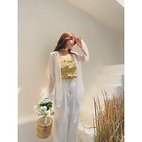 Áo somi mỏng Valley Organza Gem Clothing SP060463