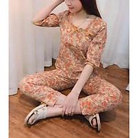 Bộ quần áo mặc nhà,bộ ngủ nữ phong cách trẻ trung,màu sắc lạ mắt