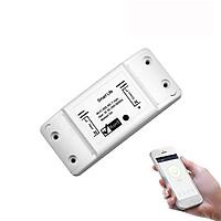 Thiết bị bật/tắt thông minh điều khiển từ xa wifi 10A V2 ( Tặng 02 móc treo đồ dán tường đa năng )
