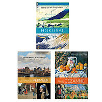 Combo Ba Danh Họa: Johannes Vermeer + Hokusai + Paul Cézanne
