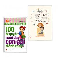 Combo sách nuôi dạy con hạnh phúc : 100 bí quyết nuôi dạy con thành công + Người mẹ thông minh sẽ làm thế này- Tặng kèm bookmark Happy Life