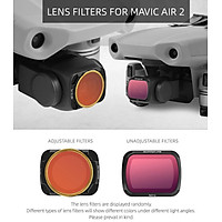 Done Filter For DJI Mavic Air 2 Filters Neutral Density Polar For DJI Mavic Air 2 Camera Accessories UV+CPL+ND4/8/16/32 NDPL Set
