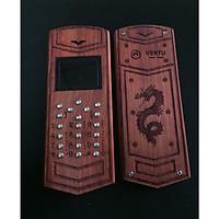 Vỏ gỗ cho điện thoại Nokia 110i mẫu Rồng Vertu