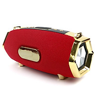 Loa Bluetooth GUTEK M229 Thiết Kế Viền Vàng Cực Sang Trọng, Loa Cầm Tay Nghe Nhạc Không Dây, Chống Thấm Nước, Âm Thanh Chất, Bass Khỏe, Cắm USB, Thẻ Nhớ, 3.5, Đài Fm Nhiều Màu Sắc - Hàng chính hãng