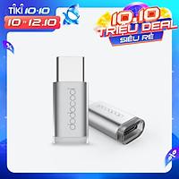 Bộ Chuyển Đổi Dodocool Mini USB-C Sang Micro USB Cho MacBook / ChromeBook Pixel/ Nexus 5X/ Nexus 6P/ OnePlus Two/ Nokia N1/ Thiết Bị Được Hỗ Trợ Loại C Bạc