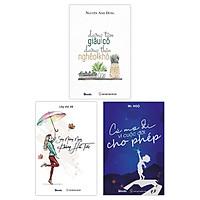 COMBO 3 sách: Dưỡng Tâm Giàu Có Dưỡng Thân Nghèo Khó + Sống Những Ngày Không Hối Tiếc + Cứ Mơ Đi Vì Cuộc Đời Cho Phép