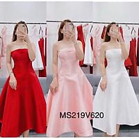 Đầm xoè cúp ngực sang trọng TRIPBLE T DRESS - size M/L- MS219V