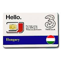 Sim du lịch Hungary 4g tốc độ cao