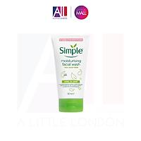 Sữa rửa mặt cho da khô Simple Moisturising Facial Wash 150ml
