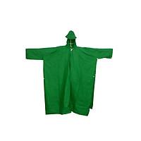Áo mưa cánh dơi nhựa xanh lá cây