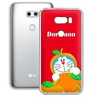Ốp lưng dẻo cho điện thoại LG V30 - 01253 7879 DOREMON12 - in hình Doremon - Hàng Chính Hãng