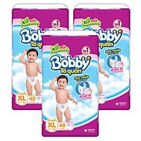 Combo 3 Gói Tã Quần Bobby Gói Siêu Lớn XL48...