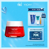 Kem Dưỡng Ngăn Lão Hóa, Sáng Da Vichy Collagen Liftactiv Collagen Specialist Chuyên Biệt (50ml)