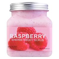 Tẩy Tế Bào Chết Toàn Thân Dưỡng Ẩm Làm Se Khít Lỗ Chân Lông Beauty Buffet Scentio Raspberry (350ml)