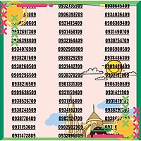 Sim số Mobi đẹp - 0938875390 - Hàng chính hãng