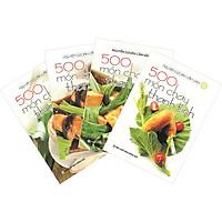 Combo 4 Cuốn:  500 Món Chay Thanh Tịnh (Tập 1-Tập 4)