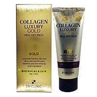 Mặt Nạ Vàng Chống Lão Hóa và Làm Trắng 3W Clinic Collagen Luxury Gold Peel Off Pack 100g - Hàn Quốc Chính Hãng