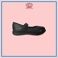 Giày Búp Bê  Đi Học Cho Bé Gái Crown Space UK Cao Cấp CRUK3030 Nhẹ Êm Thoáng Mát Size 28-36/4-14 Tuổi