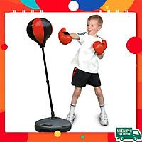 bóng tập phản xạ,Bóng đấm boxing phản xạ + Găng tay boxing+ Bơm TRẺ EM