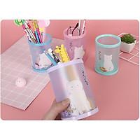 Hộp đựng bút bằng gỗ hình các con vật kute dễ thương_dụng cụ học tập cho bé_hộp đựng bút học sinh, để bàn