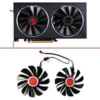 2 Chiếc G-TX 95MM 4PIN 12V Quạt GPU 1070, G-TX Thay Thế Làm Mát Card Đồ Họa Cho KFA2 GALAXY GeForce 1070 1070Ti 1080 EXOC SNPR
