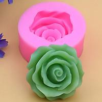 Khuôn rau câu silicon hoa hồng