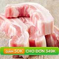 [Chỉ giao HCM] - Ba Rọi Heo Không Xương - Belly Boneless Pork - 500gram