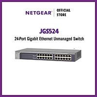 Bộ Chia Mạng Gắn Rack 24 Cổng 10/100/1000M ProSAFE Gigabit Ethernet Unmanaged Switch Netgear JGS524 - Hàng Chính Hãng