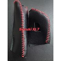 Bọc cần số & phanh tay dành cho xe Suzuki Ertiga, Swift, XL7 (AT)-da thật